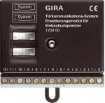 GIRA inwallspeaker uitbreidingsmodule deurcommunicatie - 125900