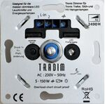 Tradim universele LED-dimmer - 2490HP