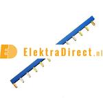 ETI kamrail 13 modulen blauw sil - 380050101