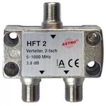 Astro coax splitter  HFT2 - 106056