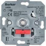 Hager Berker Basiselement - LEDDimmer 2909 Druk/draai soft-klik - 3-40W