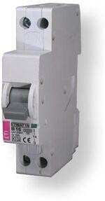 ETI KZS-1M aardlekautomaat, 20A - 1P+N, 30mA, karakteristiek: C - 432000215