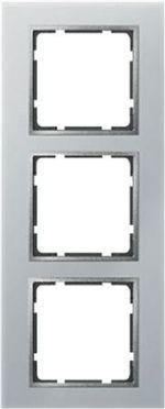Hager Berker B7 glas aluminium - afdekraam 10136414