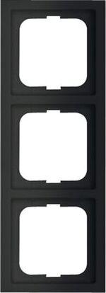 ABB Busch-Jaeger Future Lineare zwart mat afdekraam 1723-885k - 1754-0-4421
