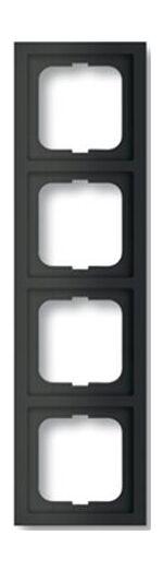 ABB Busch-Jaeger Future Lineare zwart mat afdekraam 1724-885k - 1754-0-4422