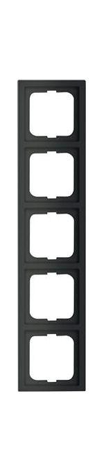 ABB Busch-Jaeger Future Lineare zwart mat afdekraam 1725-885k - 1754-0-4423
